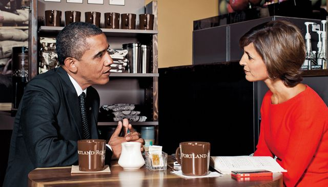 Glamour Editor-in-Chief Cindi Leive interviews President Barack Obama in Portland, Oregon about the issues most important to women.