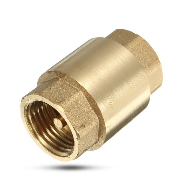 1 2 Inch Brass Non Return Valve Vertical Check Valves For Water Machine Tools Accessories From Tools On Banggood Com In 2020 Brass Valve Other Accessories