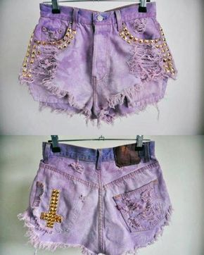Social Wardrobe: DIY: 4 Techniques to rip your Jeans/Shorts