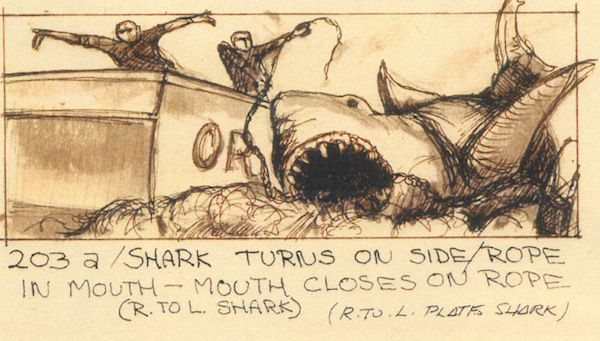 Jaws (1975) Director: Steven Spielberg Storyboard Artist: Joe Alves