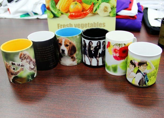 Photo Mug Sublimation Printing With Sublimation Heat Press