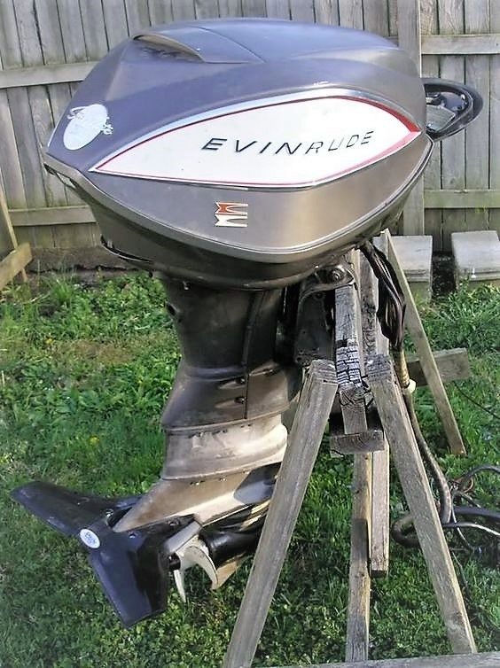 32 best evinrude 1958 18 hp fastwin restoration images on for Best 8 hp outboard motor