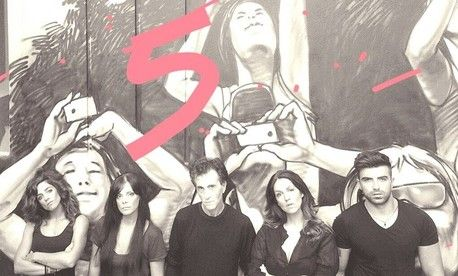 """""""Πέντε"""" του Κώστα Μπίγαλη @ Θέατρο Χυτήριο"""