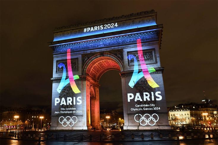 French Olympic slogan in English? Mais non!