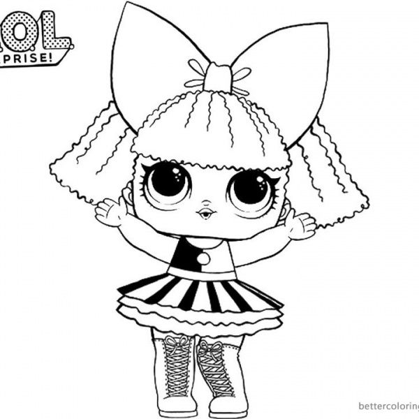 8400 Top Coloring Pages With Lol Pictures