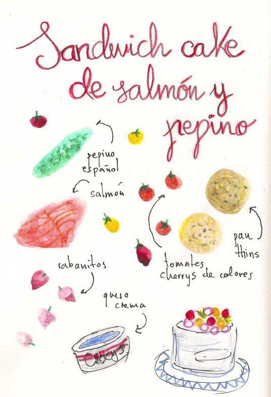 Cuadernos de dibujos de gastronomia recetas