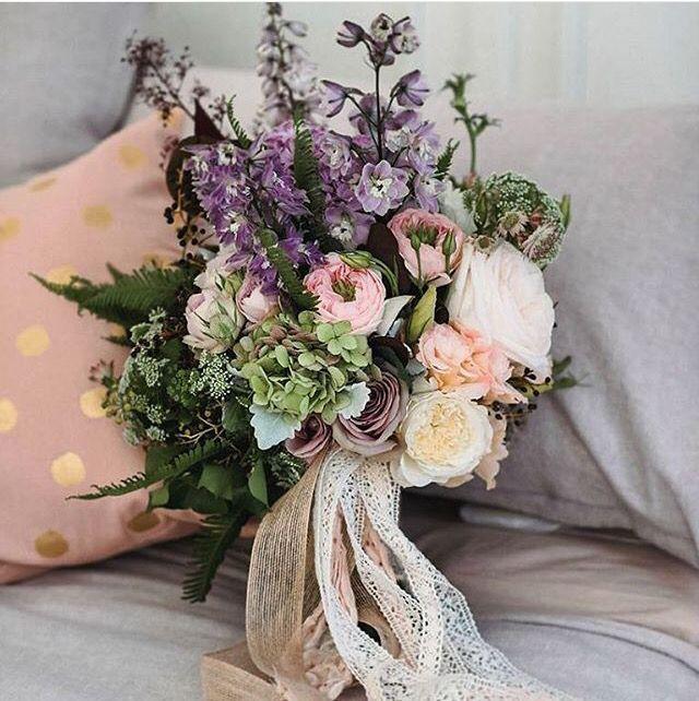 Bridal Bouquet. Pastel tones soft and pretty.