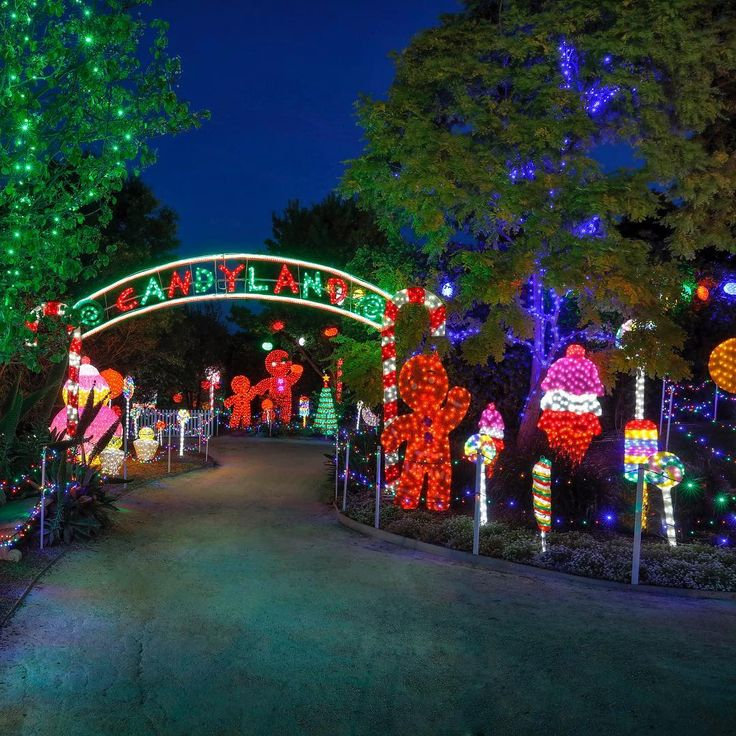 The weather is looking great for tonight and so is Candyland! #ChristmasLightsSpectacular #HunterValleyGardens