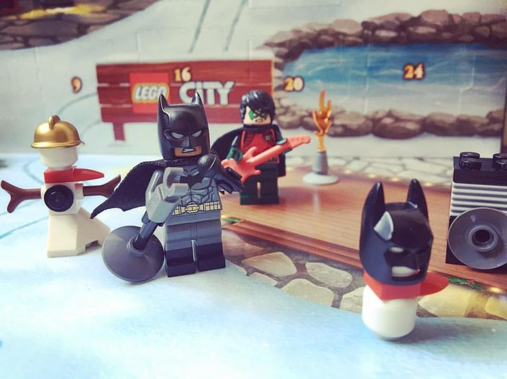 nanana Batman and the Lego Advent Calendar.