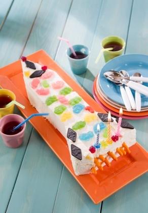 Raketti-jäätelökakku | K-ruoka #lastenkutsut