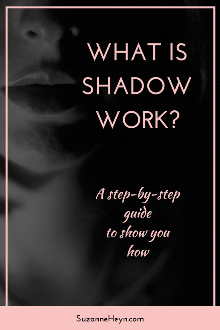 What is shadow work? (And how to do it Shadow work