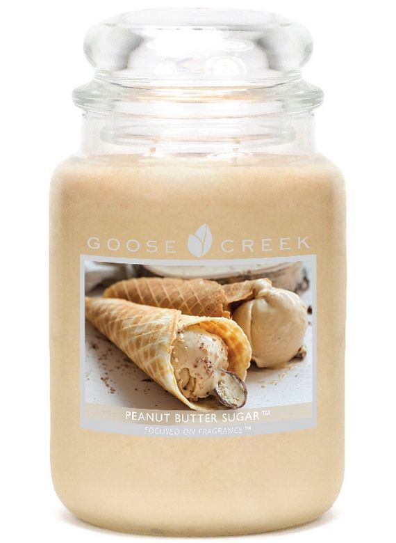 Goose Creek Peanut Butter Sugar Yankee Candle Whiskers on Kittens