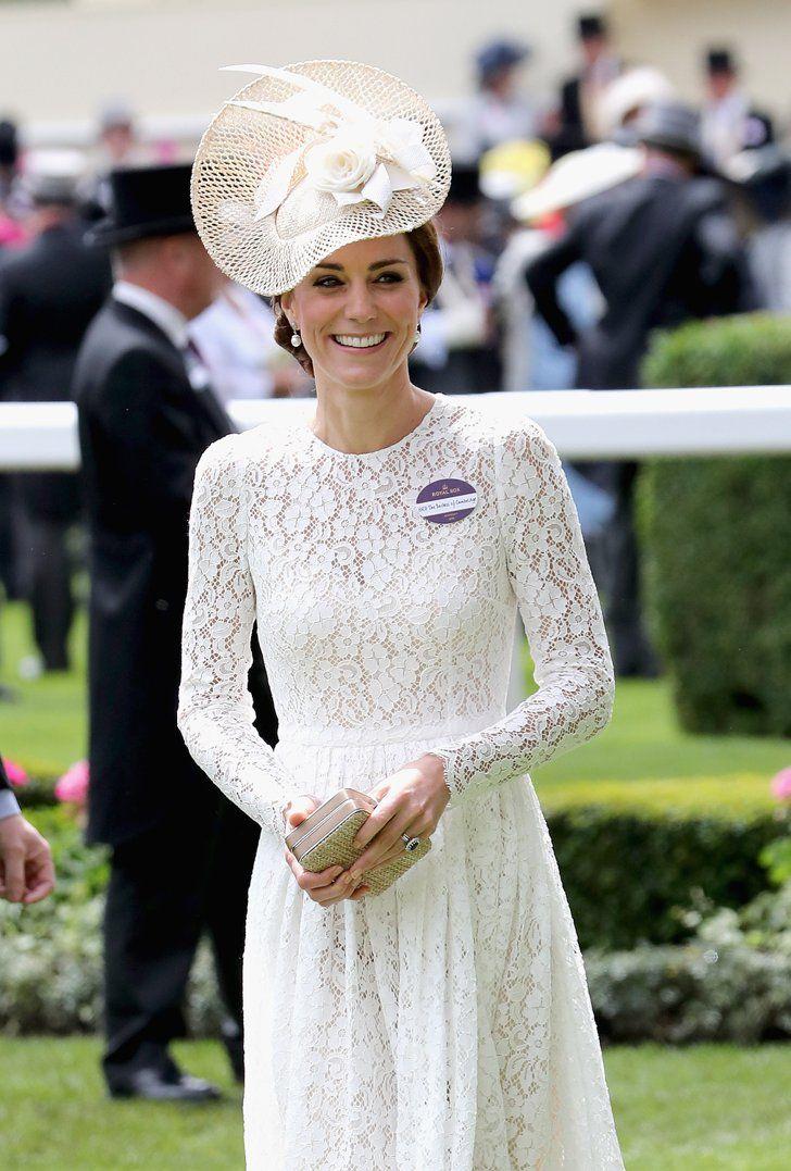 Pin for Later: Die britischen Royals zeigen sich von ihrer besten Seite in Ascot  Catherine, Herzogin von Cambridge                                                                                                                                                                                 Mehr