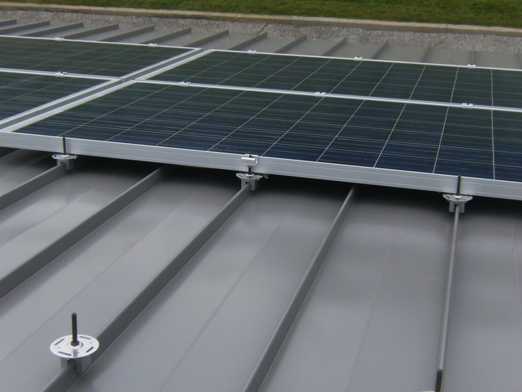 Great Custom Solar Installations With Metal Roofing! Http://www.finalroof.com