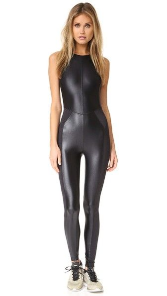 Awesome Catwoman outfit!  KORAL ACTIVEWEAR Aerial Meter Jumpsuit