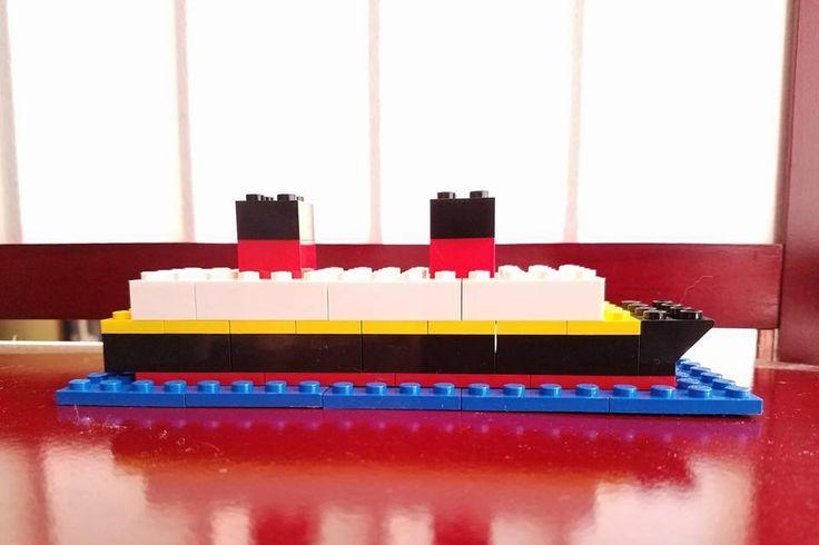 Lego Disney Inspired Cruise Ship by dolphinoasisdesignz on Etsy
