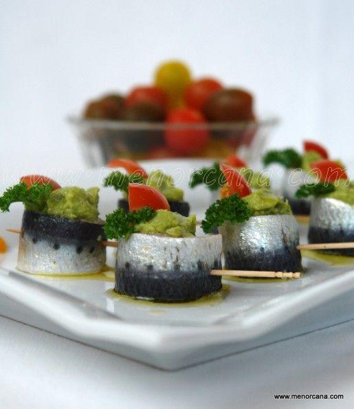 Sardinas marinadas en cítricos con guacamole 1