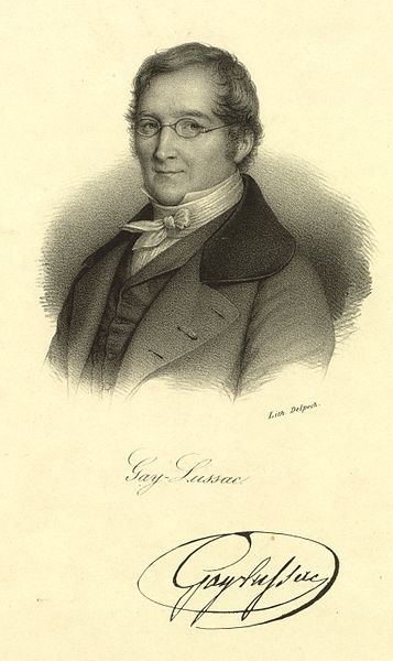 G-Joseph Louis Gay-Lussac  was a French chemist and physicist. 1802 – Gay-Lussac first formulated the law, Gay-Lussac's Law, stating that if the mass and pressure of a gas are held constant then gas volume increases linearly as the temperature rises.