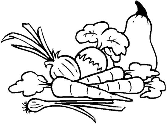 Galerry coloring page of fruit