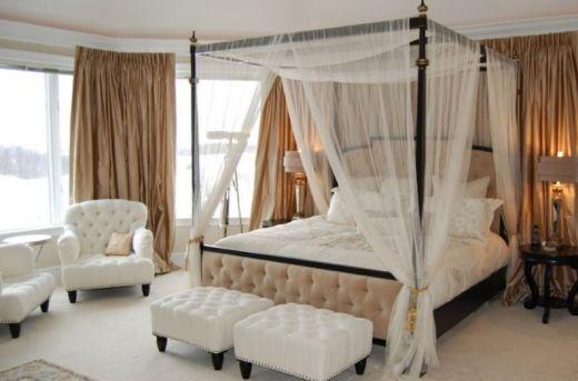 Top 20 cele mai frumoase paturi cu baldachin
