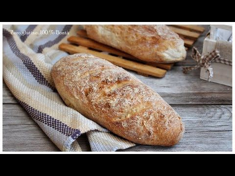 Filoncini di pane senza glutine