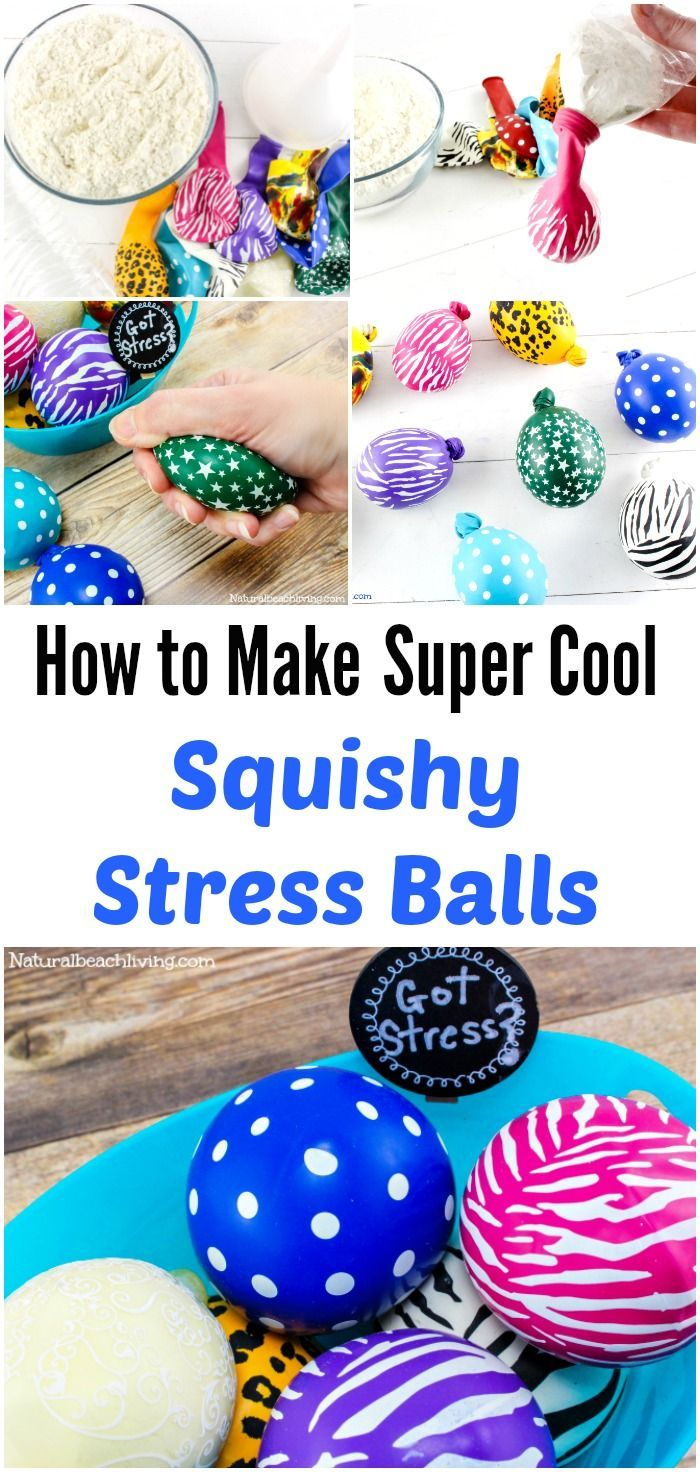 DIY Make Stress Balls Kids Will Love, Super cool squeeze balls, great for anxiet... - http://www.oroscopointernazionaleblog.com/diy-make-stress-balls-kids-will-love-super-cool-squeeze-balls-great-for-anxiet/