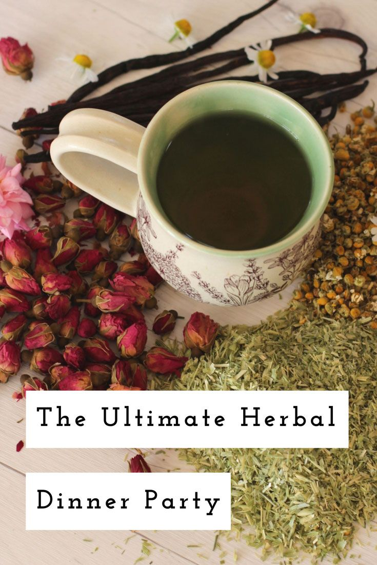Chinese herbal insomnia tea - Impress Your Friends And Family By Hosting An Herbal Dinner Party Join Us