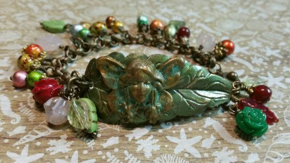 Check out this item in my Etsy shop https://www.etsy.com/au/listing/260236788/garden-sprite-cuffcharm-bracelet