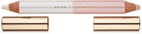 (Product review for jane iredale Highlighter Pencil). A jumbo dual-ended pencil designed to highlight the eyes, lips and face. Highlights the inner corner of the eye. May be used to line the eyes, and highlight above the brow bone or cheekbone. Instantly wakes up tired eyes and gives eyes a lift. Key ingredients: Castor Seed Oil soothes; Vitamin E...