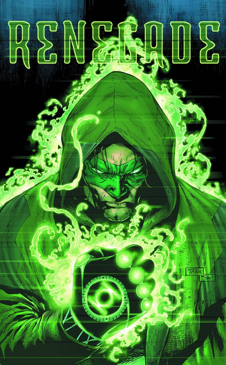 """""""Renegade""""! Beginning a new chapter in Hal Jordan's life as he becomes the universe's most wanted outlaw! And wait till you meet Hal's new partner, Darlene – she's definitely not what you're expecting"""
