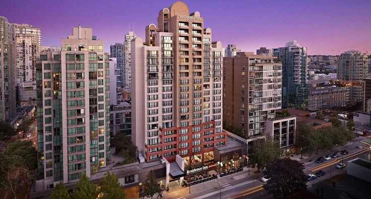 Downtown Vancouver Hotels | Residence Inn Vancouver Downtown