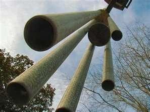 huge wind chimes