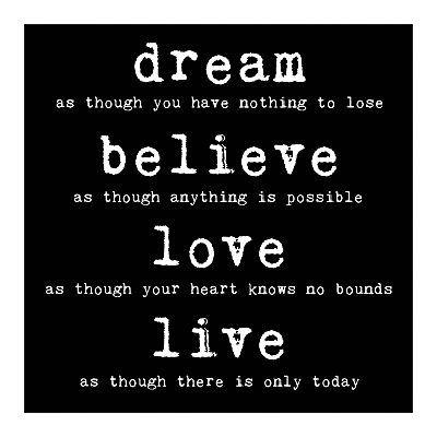 Inspirational Quotes- Dream big!: Good Quotes, Inspire Quotes, Enjoyable Quotes, Inspirational Quotes, Big Quotes, Desk, Best Quotes Ever, Inspirations Quotes, Dreams Quotes