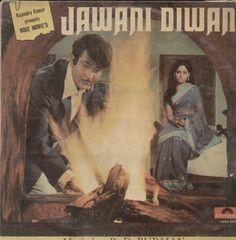 Jawani Diwani 1970 Bollywood Vinyl LP