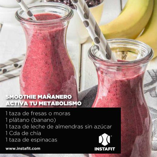 smoothie activa metabolismo