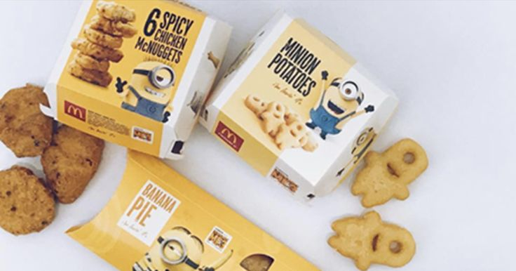 McDonald's Releases A Minions-Themed Menu And, Well, Just Take A Look For Yourself