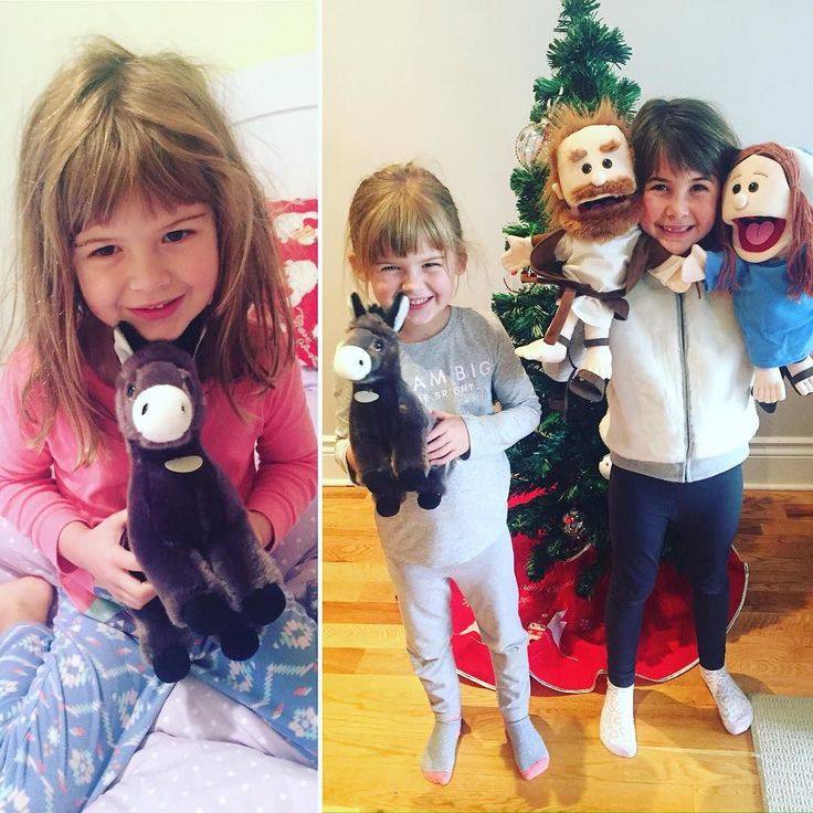 Such a long journey Mary Joseph and Donkey are on (8 more sleeps till #Christmas )! Maddie & Cassie knew just what these weary folks needed - (((HUGS)))! And when #MaryJosephAdventJourney had to leave their generous hosts shed tears #RadicalHospitality #Leaside #EastYork #TrueMeaningOfChristmas #Advent #Christmas#love