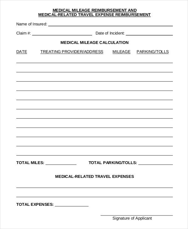 Template Net Mileage Reimbursement Form 9 Free Sample Example Format Be873f6f Resumesample Resumefo How To Memorize Things Funeral Program Template Templates