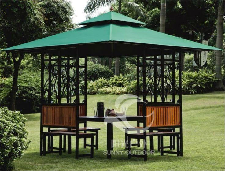 Outdoor Garden Gazebo - Buy Garden Gazebo,Wooden Gazebos For Sale,Wooden Gazebo Designs Product on Alibaba.com