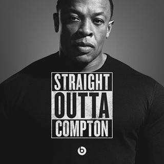 "To help promote the new movie Straight Outta Compton, Dr. Dre created a meme generator that tweaks the movie logo. | Community Post: 19 Of The Best Nerdy ""Straight Outta Compton"" Memes"
