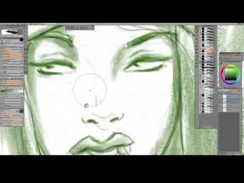 Ep:05 Digital Paint Along - Paintstorm Studio - YouTube