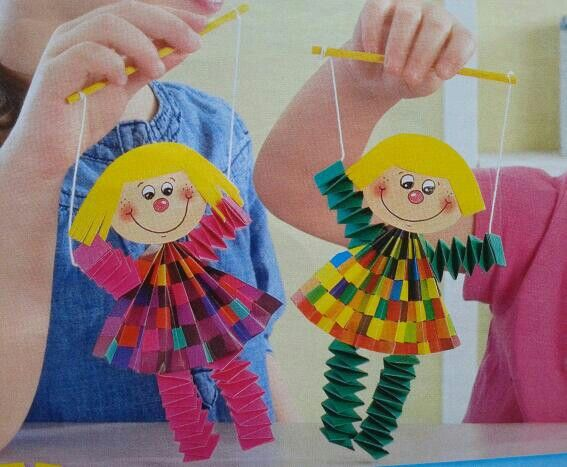 Marionettes from paper