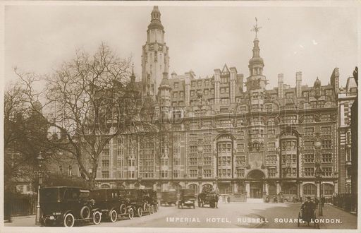 Imperial Hotel, Russell Square, London.