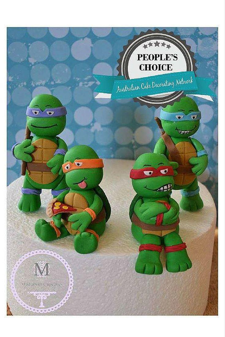 Teenage Mutant Ninja Turtle Toppers