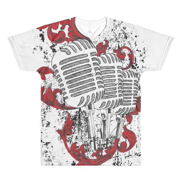 Mic check sublimation tshirt t shirt vinyl shirts