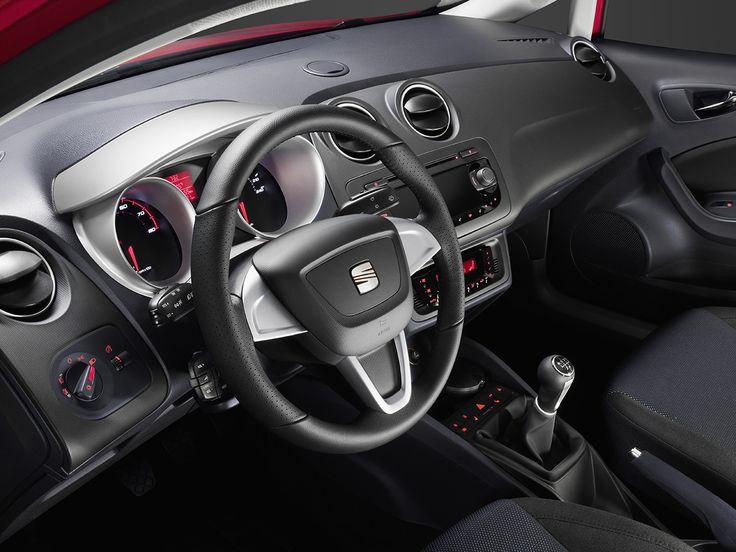 Interior del Seat Ibiza Cupra 2013