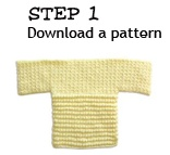 Knit or crochet a sweater for a child in need.  World Vision provides a free pattern and instructions.