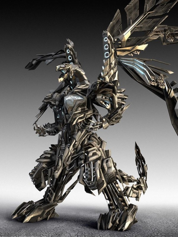 The #FinalFantasy #Bahamut really started to incorporate more and more biomechanical aspects. #WotA Bahamut is all organic