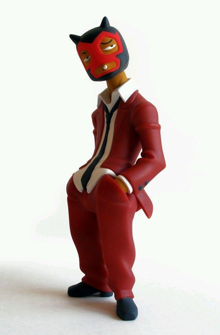 Tequila Muttpop Mexican Fighter Figure Rare   eBay