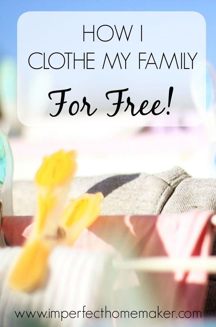 How I Clothe My Family For Free! | @mbream